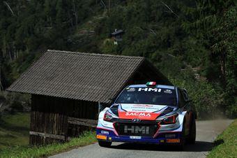 Corrado Fontana, Nicola Arena (Hyundai i20 WRC #5, Bluthunder), CAMPIONATO ITALIANO WRC