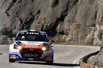 Luigi Fontana, Giovanni Agnese (Hyundai i20 WRC #12, Bluthunder), CAMPIONATO ITALIANO WRC