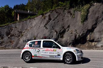 Gianmarco Lovisetto, Ivan Gasparotto (Renault Clio S1600 #39, Monselice Corse), CAMPIONATO ITALIANO WRC