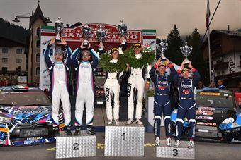 Podio Sna Martino Di Castrozza, CAMPIONATO ITALIANO WRC