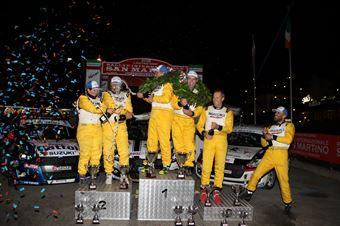 Podio Trofeo Suzuki, CAMPIONATO ITALIANO WRC
