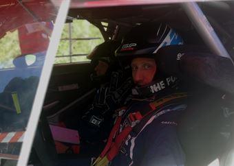 Portrait Paolo Porro (Ford Fiesta Wrc, #8), CAMPIONATO ITALIANO WRC