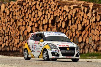 Andrea Scalzotto, Nicola Rutigliano (Suzuki Swift R1 #91, Funny Team), CAMPIONATO ITALIANO WRC