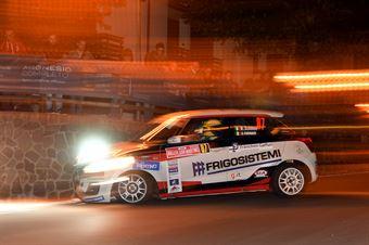 Nicola Schileo, Gianguido Furnari (Suzuki Swift R1 #87, Winners Rally Team), CAMPIONATO ITALIANO WRC