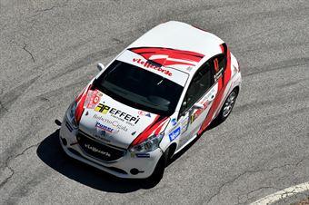 Gianluca Saresera, Maurizio Barone (Peugeot 208R2 #47, Leonessa Corse), CAMPIONATO ITALIANO WRC