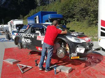 Assistenza Luca Pedersoli, Anna Tomasi (Citroen DS3 WRC #3), CAMPIONATO ITALIANO WRC