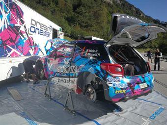 Assistenza Simone Miele, Roberto Mometti (Citroen DS3 WRC #1, Giesse Promotion), CAMPIONATO ITALIANO WRC