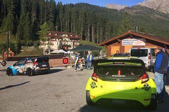 Uscita Parco Assistenza, CAMPIONATO ITALIANO WRC