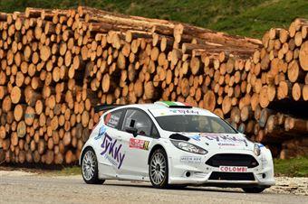 Rizziero Zigliani, Ludwig Zigliani (Ford Fiesta R5 #24) , CAMPIONATO ITALIANO WRC