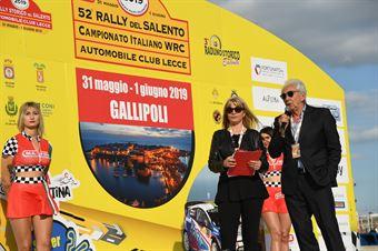Cerimonia di Partenza 52 Rally del Salento, CAMPIONATO ITALIANO WRC