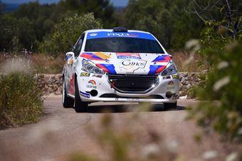 Fabio Farina, Luca Guglielmetti (Peugeot 208 R2 #43, Pintarally Motorsport), CAMPIONATO ITALIANO WRC
