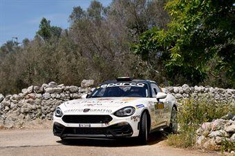 Alessandro Fiorio; Luca Broglia (Abarth 124 Rally #23), CAMPIONATO ITALIANO WRC