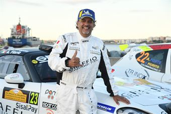 Alessandro Fiorio, Luca Broglia (Abarth 124 Rally #23), CAMPIONATO ITALIANO WRC