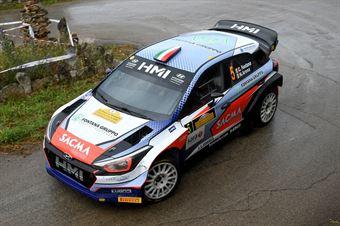 Corrado Fontana; Nicola Arena (Hyundai i20 WRC #5. Bluthunder), CAMPIONATO ITALIANO WRC