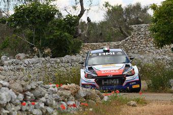 Corrado Fontana, Nicola Arena (Hyundai i20 WRC #5. Bluthunder), CAMPIONATO ITALIANO WRC