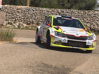 Pierleonardo Bancher, Giandomenico Longo (Skoda Fabia R5 #14, Pintarally), CAMPIONATO ITALIANO WRC