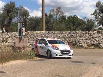 Gianluca Saresera, Daniel Taufer (Peugeot 208 R2 #38, Leonessa Corse), CAMPIONATO ITALIANO WRC