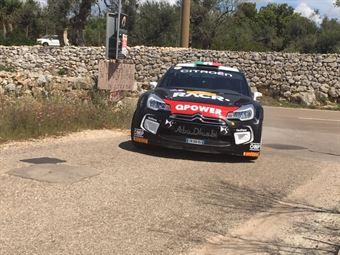 Luca Pedersoli, Anna Tomasi (Citroen DS3 WRC #1), CAMPIONATO ITALIANO WRC