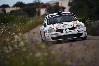 Gianmarco Lovisetto, Ivan Gasparotto (Renault Clio S1600 #27, Monselice Corse), CAMPIONATO ITALIANO WRC