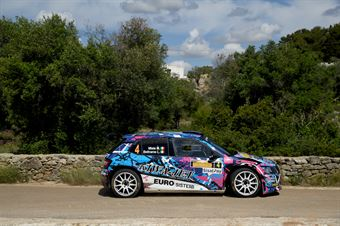 Mauro Miele, Luca Beltrame (Skoda Fabia R5 #4, Giesse Promotion), CAMPIONATO ITALIANO WRC