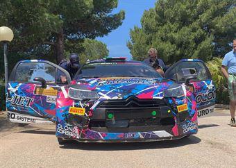 Simone Miele; Roberto Mometti (Citroen DS3 WRC #1; Giesse Promotion), CAMPIONATO ITALIANO WRC