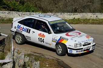 Francesco Ospedale, Antonio Cesare Mancuso (Opel Kadett GSI #104, Project Team), CAMPIONATO ITALIANO WRC