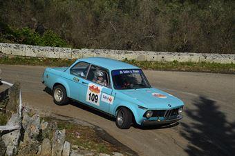 Sergio Palmisano, Giovanni Averna (BMW 2002 #109, Project Team), CAMPIONATO ITALIANO WRC