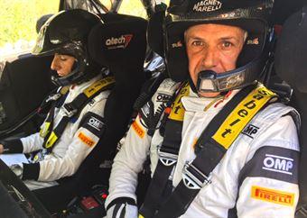 Luca Pedersoli; Anna Tommasi (Citroen DS3 WRC #2), CAMPIONATO ITALIANO WRC
