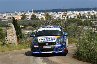 Roberto Pelle, Giulia Luraschi (Suzuki Swift R1 #83, Destra 4), CAMPIONATO ITALIANO WRC