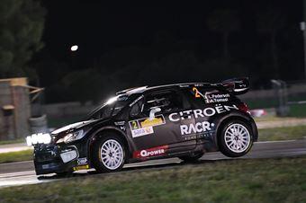 Luca Pedersoli, Anna Tomasi (Citroen DS3 WRC #2), CAMPIONATO ITALIANO WRC
