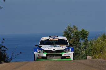 Corrado Pinzano; Marco Zegna (Skoda Fabia R5 #9; New Driver's Team), CAMPIONATO ITALIANO WRC