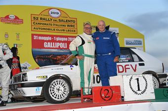 2 Rally Storico, Cerimonia di Premiazione, CAMPIONATO ITALIANO WRC