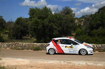 Gianluca Saresera, Manuel Fenoli (Peugeot 208 R2 #38, Leonessa Corse), CAMPIONATO ITALIANO WRC