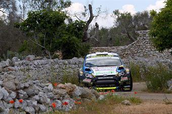 Marco Signor, Patrick Bernardi (Ford Fiesta WRC #3, Casarano Rally Team), CAMPIONATO ITALIANO WRC