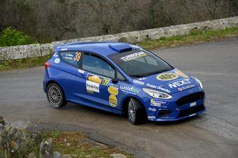 Liberato Sulpizio, Alessio Angeli (Ford Fiesta MK8 #39, Rally Team), CAMPIONATO ITALIANO WRC