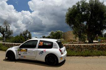 Roberto Vescovi, Giancarla Guzzi (Renault Clio S1600 #26, GR Motorsport), CAMPIONATO ITALIANO WRC