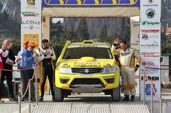 Codeca Lorenzo,Toffoli Mauro(Suzuki Grand Vitara,Emmetre Racing,#1), CAMPIONATO ITALIANO CROSS COUNTRY