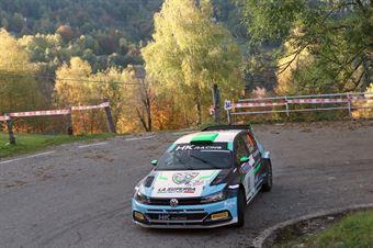 Alessandro Re, Mauro Turati (Volkswagen Polo R5 #18, La Superba), COPPA RALLY DI ZONA
