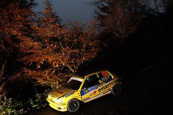 Erwin Amerio, Raffaele Pizzato (Peugeot 106 #139, Eurospeed), COPPA RALLY DI ZONA