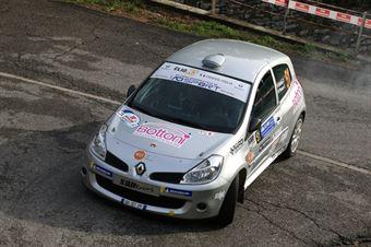 Federico Bottoni, Sofia Peruzzi (Renault Clio #51, Palladio), COPPA RALLY DI ZONA
