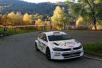 Elwis Chentre, Elena Giovenale (Volkswagen Polo R5 #2, Biella Corse), COPPA RALLY DI ZONA
