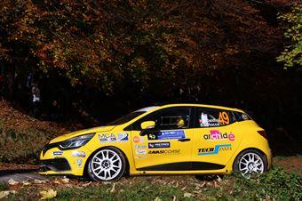 Kim Daldini, Daniele Rocca (Renault Clio #49, La Superba), COPPA RALLY DI ZONA