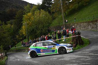 Pinzano Bernardi (Volkswagen Polo R5 #1, New Drivers team), COPPA RALLY DI ZONA