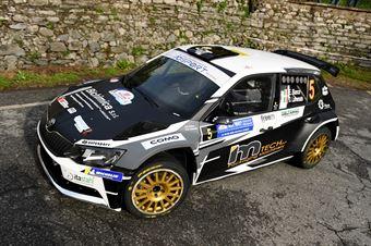 Bianco Lamonato (Skoda Fabia R5 #5, Rally Car Service), COPPA RALLY DI ZONA