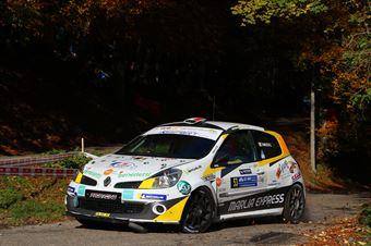 Claudio Fanucchi, Federico Portera (Renault Clio #53, Proracing), COPPA RALLY DI ZONA