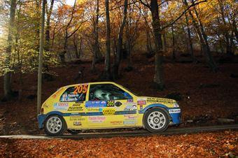 Augusto Favero, Nicola Perrone (Peugeot 106 #205), COPPA RALLY DI ZONA