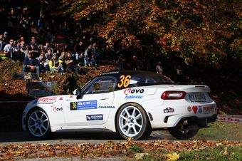 Roberto Gobbin, Renzo Fraschia (Fiat Abarth 124 #36, Winners Rally Team), COPPA RALLY DI ZONA
