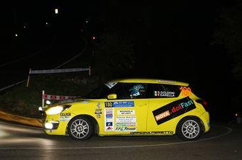 Simone Goldoni, Flavio Garella (Suzuki SWift R1 #180, NordOvest Racing), COPPA RALLY DI ZONA