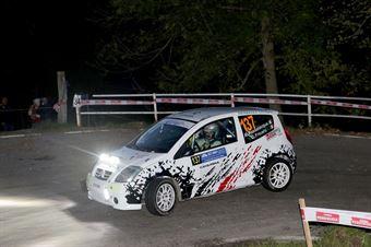 Andrea Passalacqua, Chiara Fricerio (Citroen C2 #137, Nordovest Racing), COPPA RALLY DI ZONA