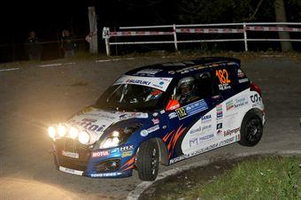 Roberto Pelle, Roberto Riva (Suzuki Swift R1 #182, Destra4), COPPA RALLY DI ZONA